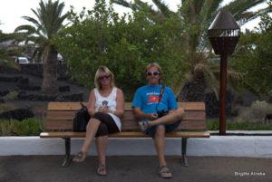Rita und Hans von SY Alamer